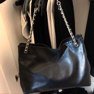 Black Tory Burch Chain Handbag